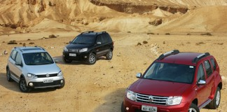 Renault Duster, VW CrossFox, Ford EcoSport