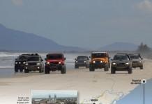 Viagem de carro litoral sul