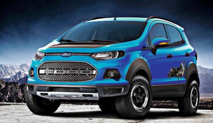 Ford Ecosport Storm Motor Show