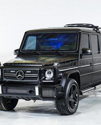 INKAS Armored Revela Limousine Blindada Do Mercedes G63 AMG