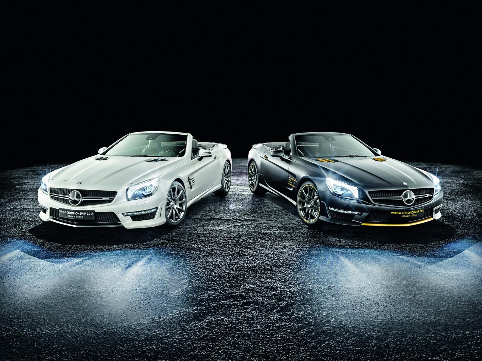 Mercedes Benz SL63 AMG Em Edição Hamilton E Rosberg