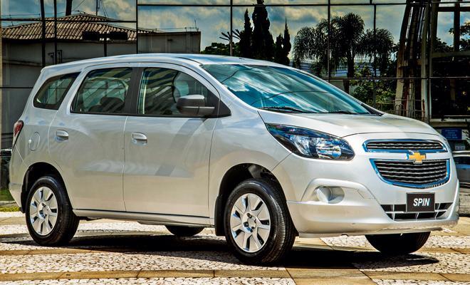 Chevrolet Spin Uma Minivan Revigorada E Com Mais Flego Motor Show