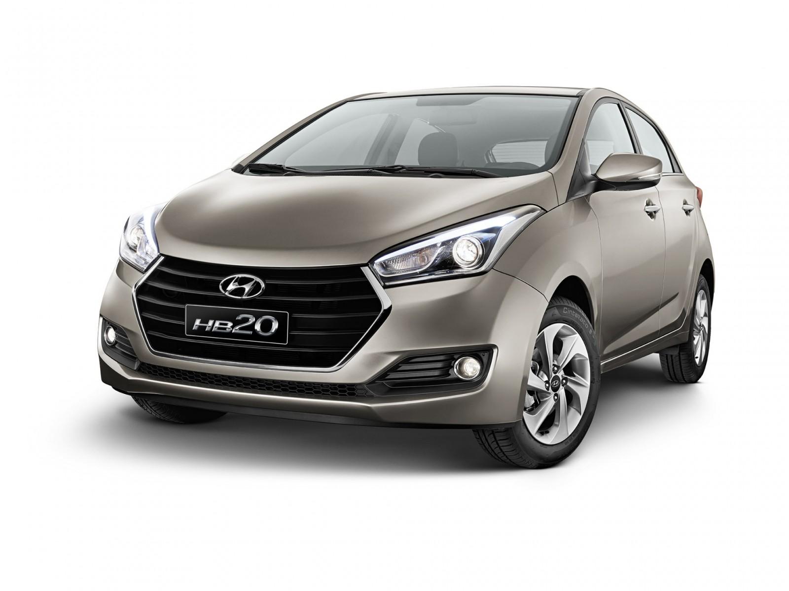 Hyundai lança HB20 e HB20S com motor 1.0 turbo de 105 cv ...