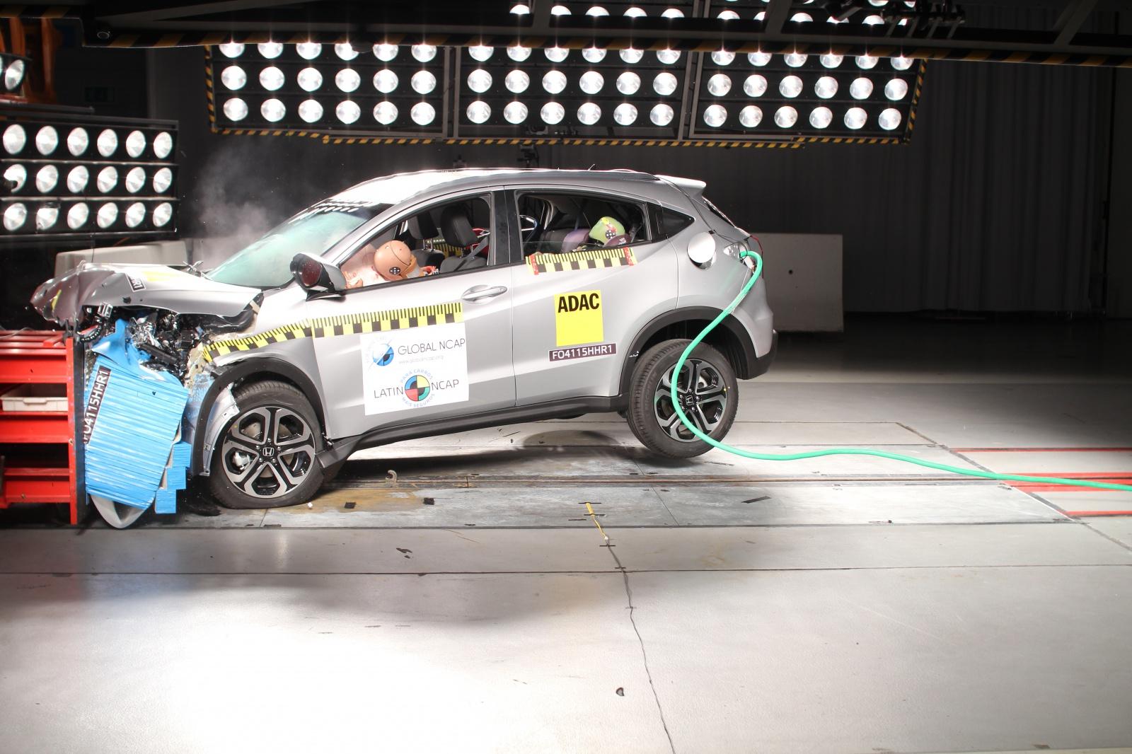 Honda HR V Ganha Nota Máxima No Latin NCAP; Confira Outros Resultados    Motor Show