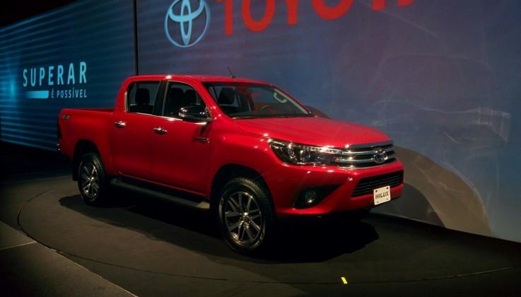 Nova Toyota Hilux 2016 Parte De R 118 690 Confira Fotos Versoes E