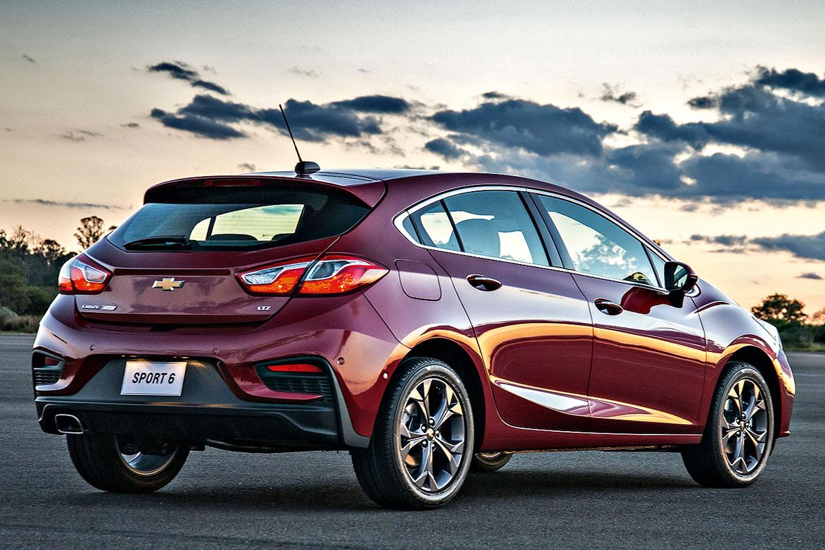 Chevrolet Cruze Sport 6 ganha nova geração no Salão - Motor Show