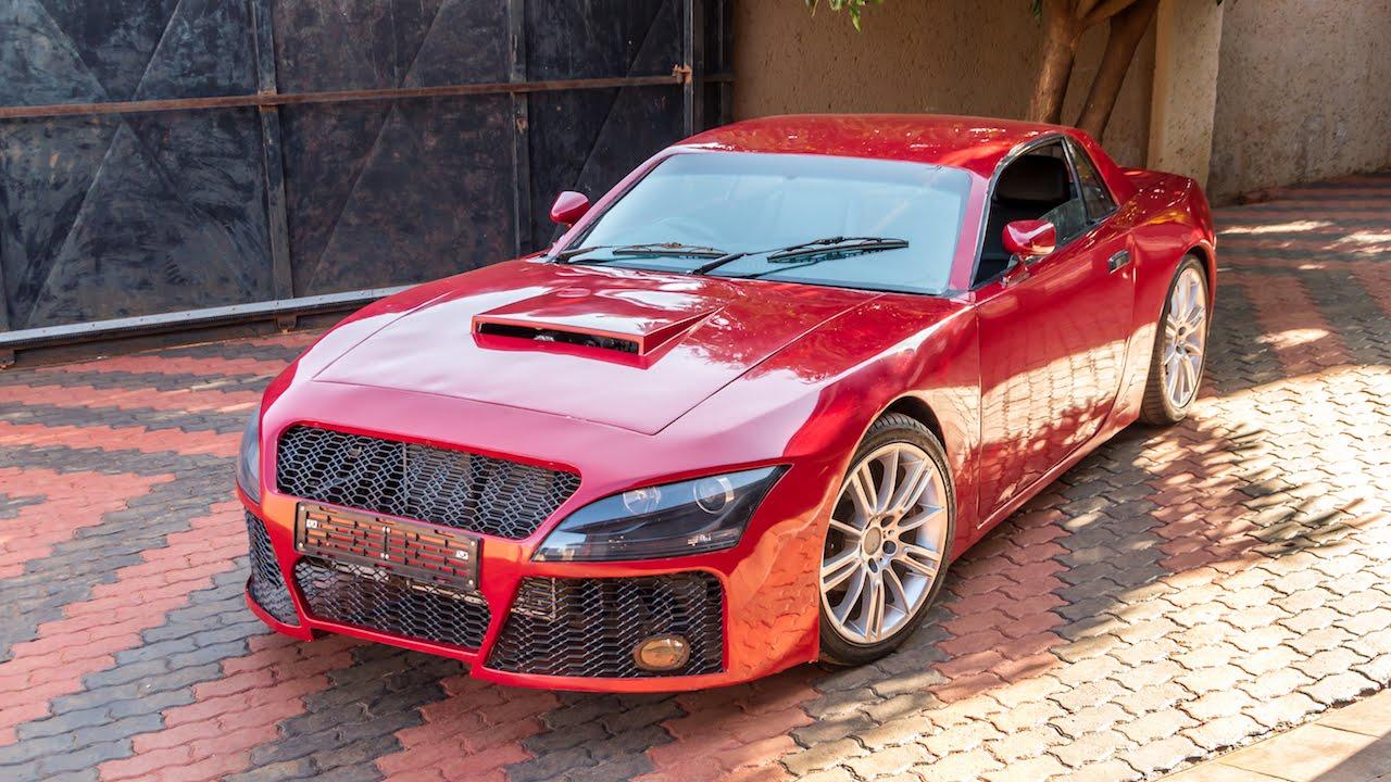 Com peças de BMW e Nissan GT-R, sul-africano constrói ...