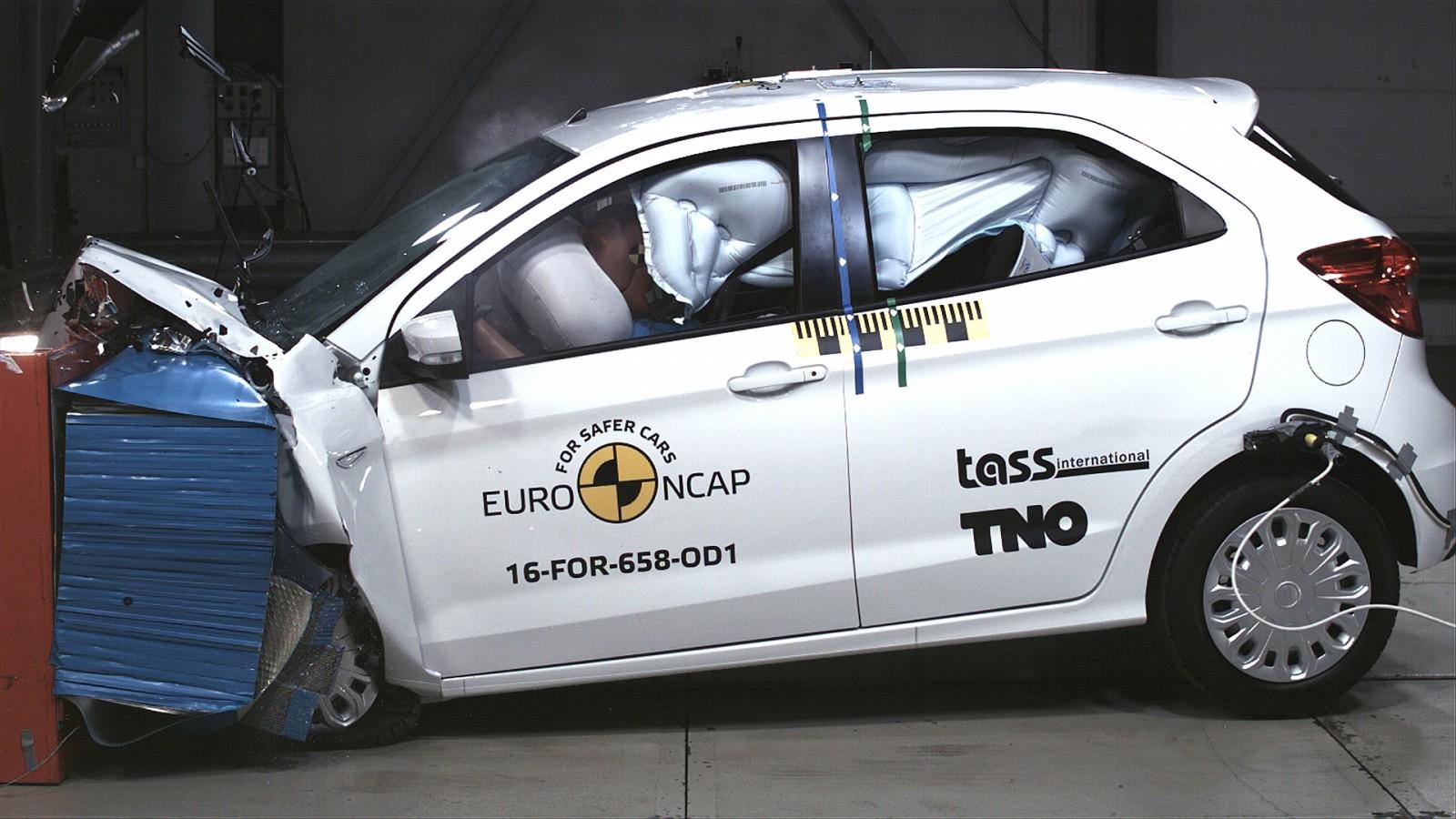 Ford Ka recebe três estrelas no Euro NCAP - Motor Show