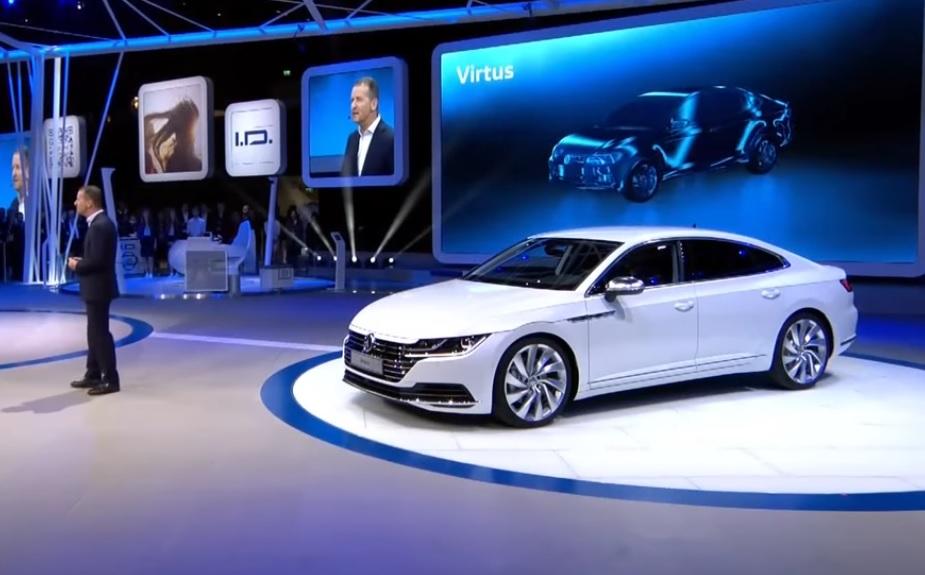 Volkswagen Confirma Sed 227 Virtus Para O Brasil Modelo