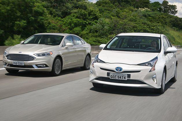 Ford Fusion Hybrid Vs Toyota Prius Por Uma Vida Menos Ordinária