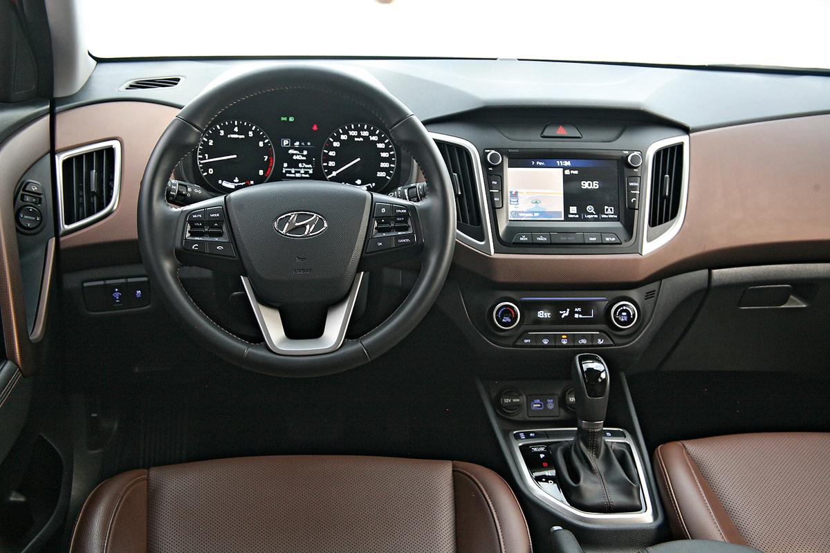 Interior Sites Avalia 231 227 O Hyundai Creta 2 0 233 Um Carro Correto Mas Que