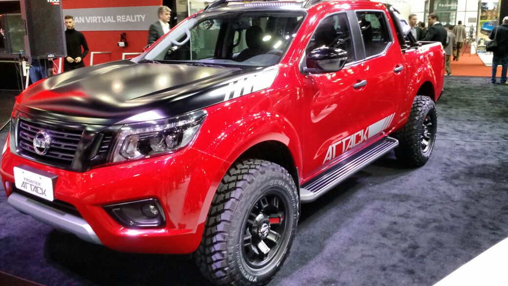 Nissan Frontier Attack retorna como conceito fora-de ...