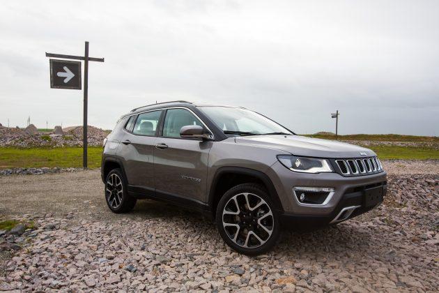 Jeep Compass 2018 Estreia Versao Limited Diesel Motor Show
