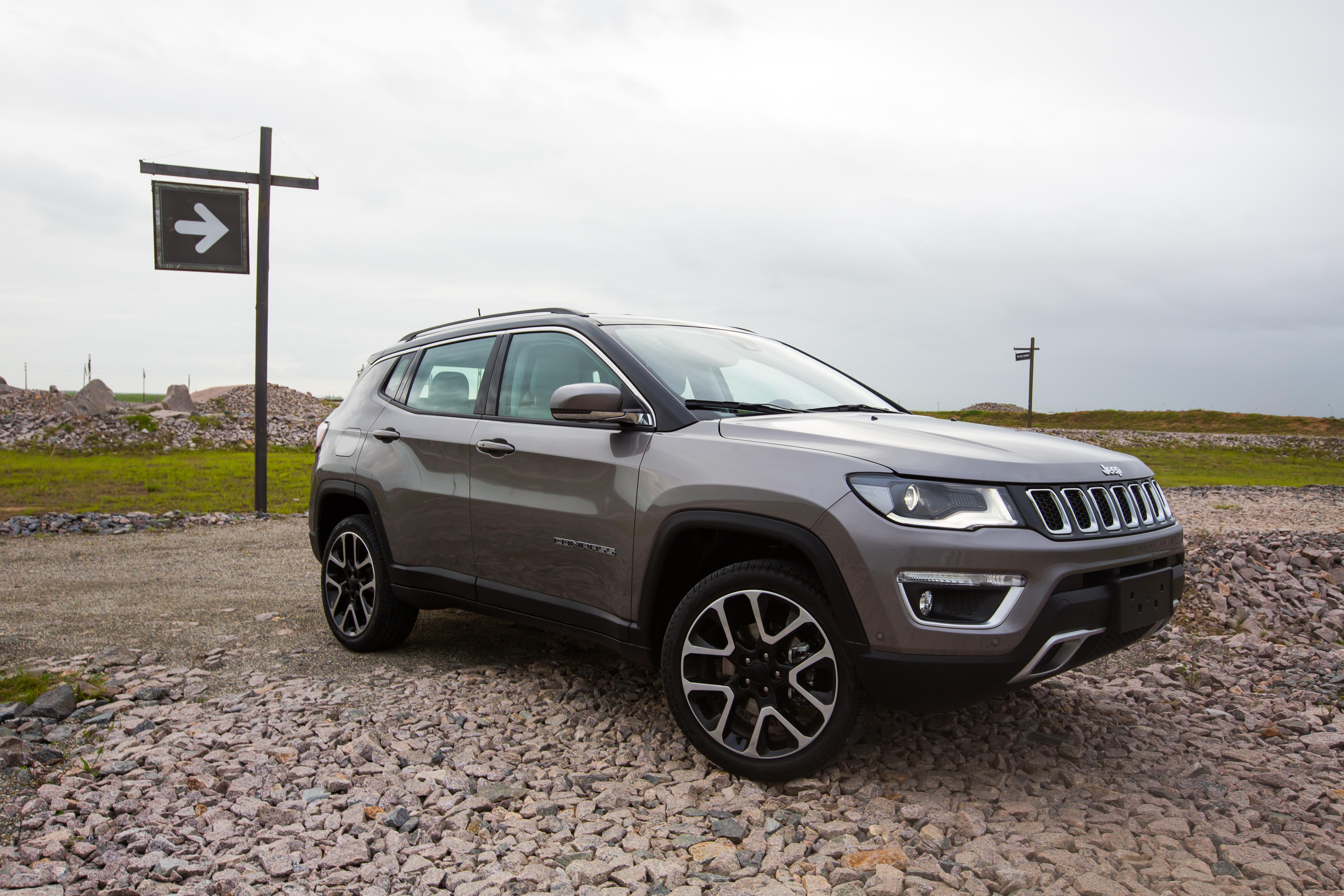 Jeep Compass 2018 estreia versão Limited Diesel - Motor Show