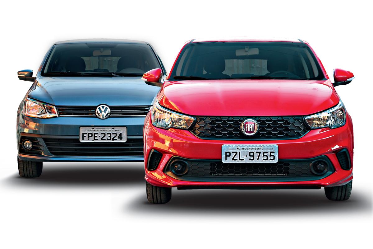 Comparativo Fiat Argo Vs Vw Gol Chevrolet Onix E