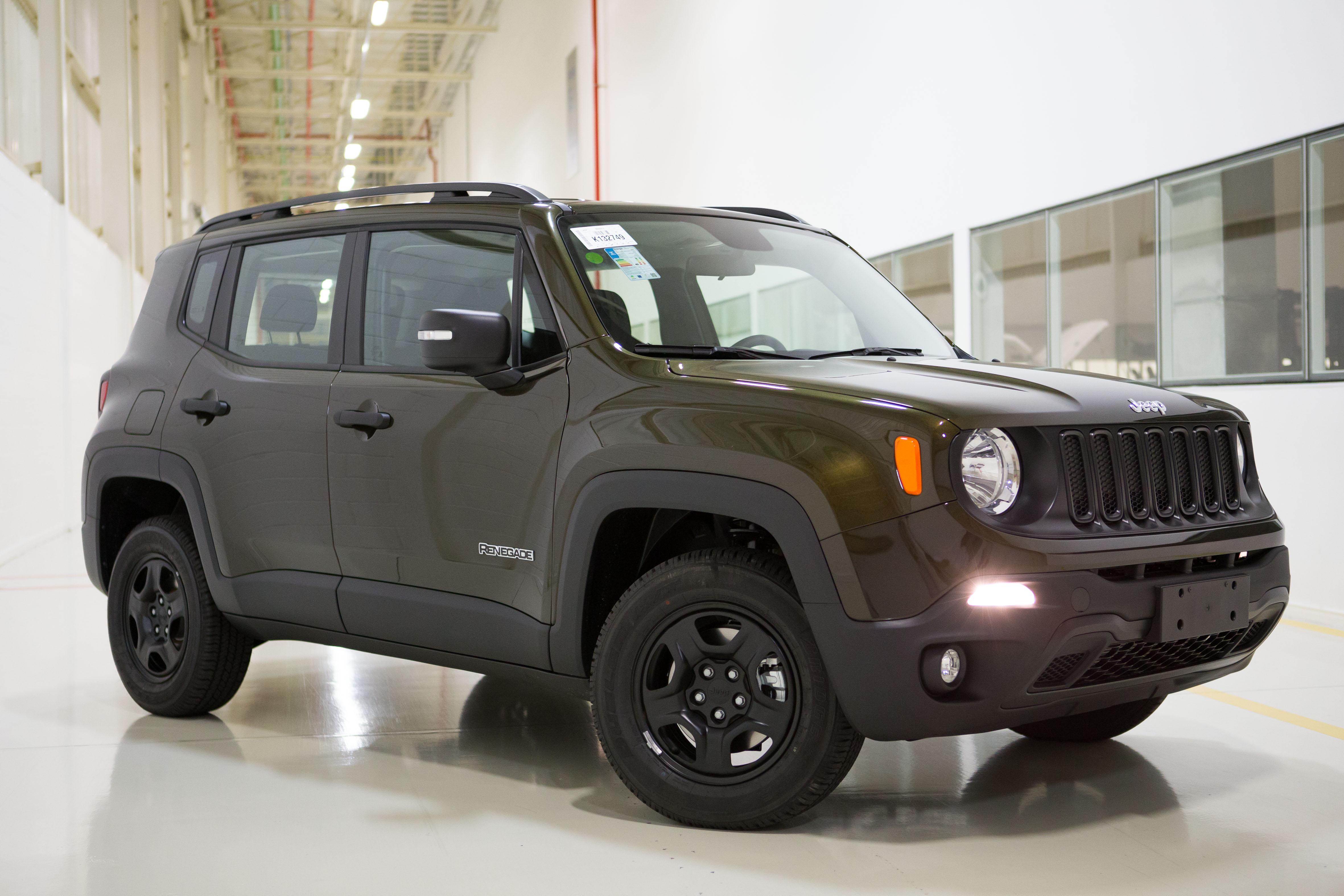 Jeep Renegade 2018 estreia novas versões diesel - Motor Show