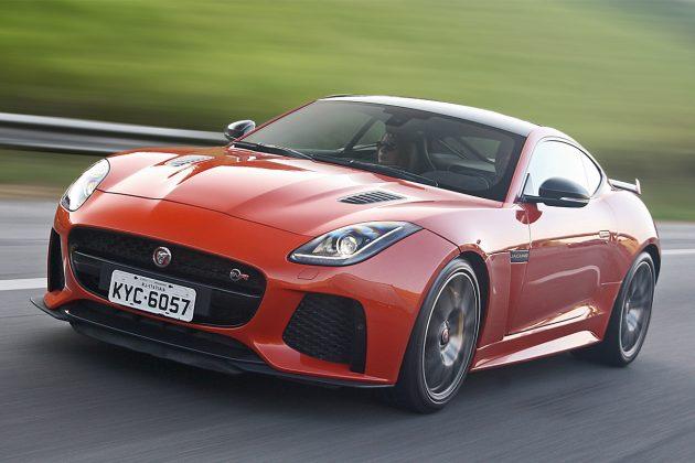 Avaliação: Jaguar F Type SVR é Veloz Igual A Vento De Tempestade