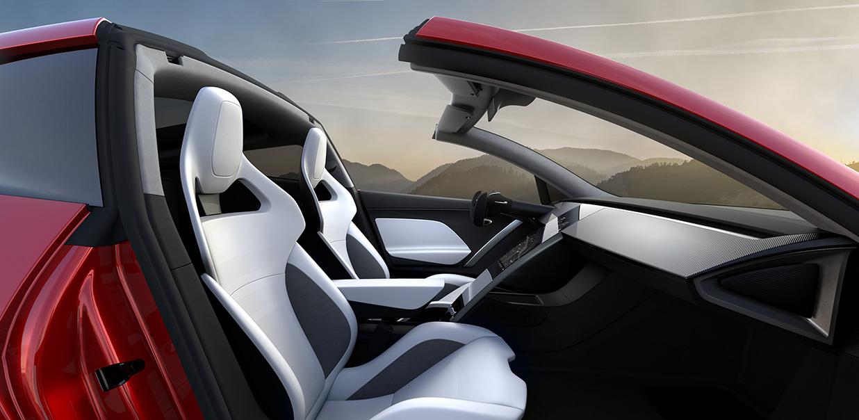 Novo Tesla Roadster Ser 225 O Esportivo Mais R 225 Pido Da