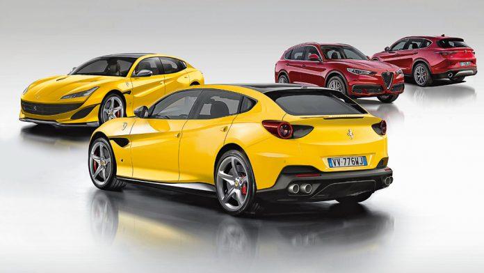 SUV Ferrari Purosangue