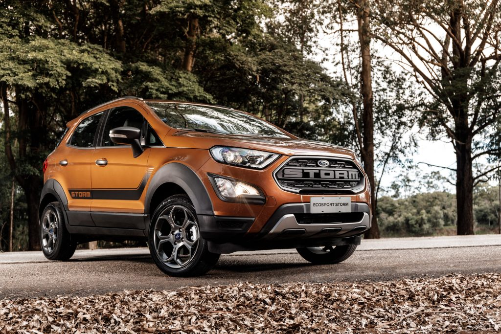 Ford Ecosport Storm Chega Com Tracao 4x4 Por R 99 990 Motor Show
