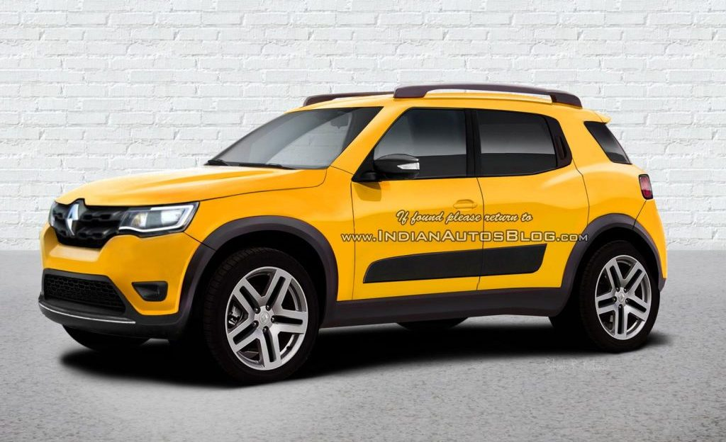 Renault Kwid deverá servir de base para SUV, aponta site ...