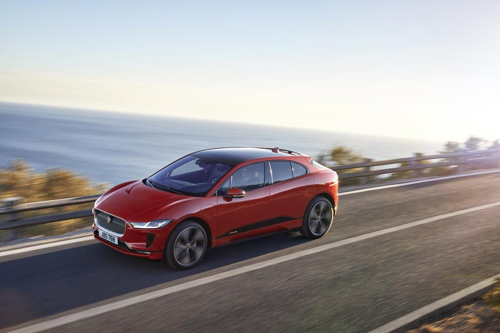 Jaguar I-Pace desafia Tesla Model X para um duelo