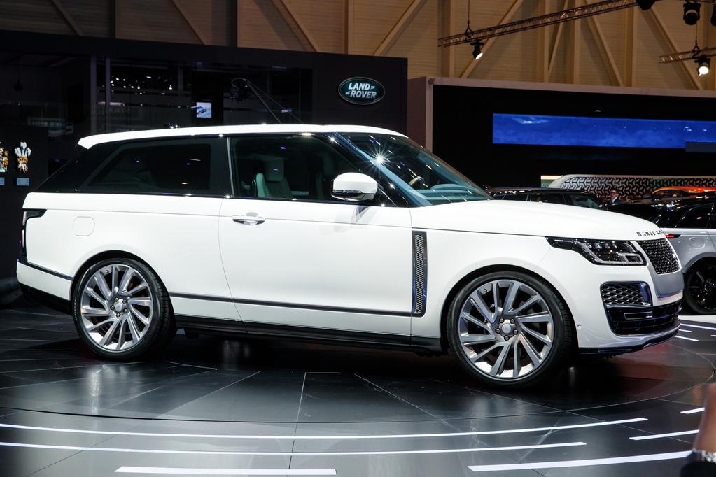 2018 Honda Accord Interior >> SUV de duas portas, Range Rover SV Coupé estreia em ...