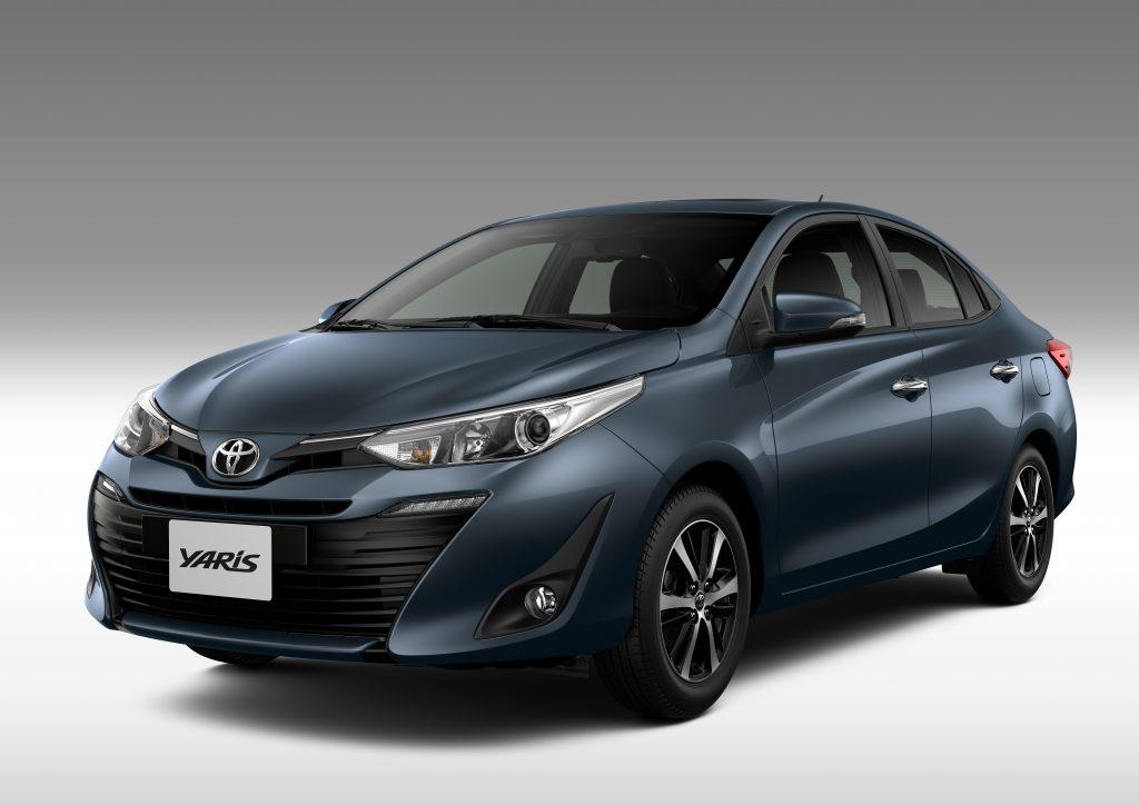 Pre 231 Os E Vers 245 Es Do Toyota Yaris Vazam Na Internet Motor