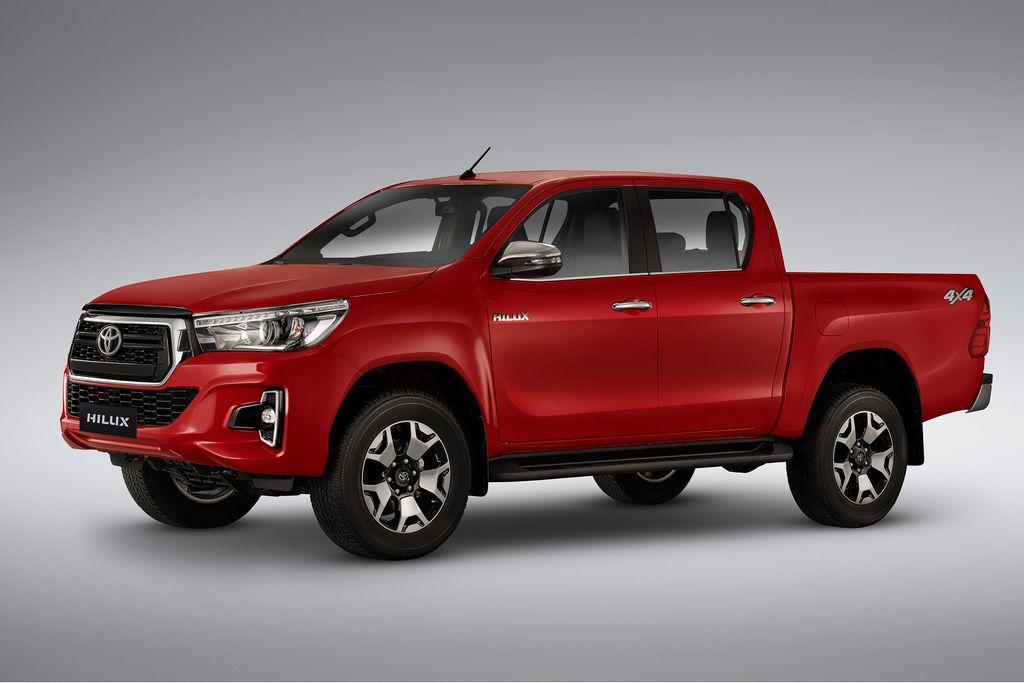 Toyota Hilux 2019 estreia com mudanças no visual - Motor Show