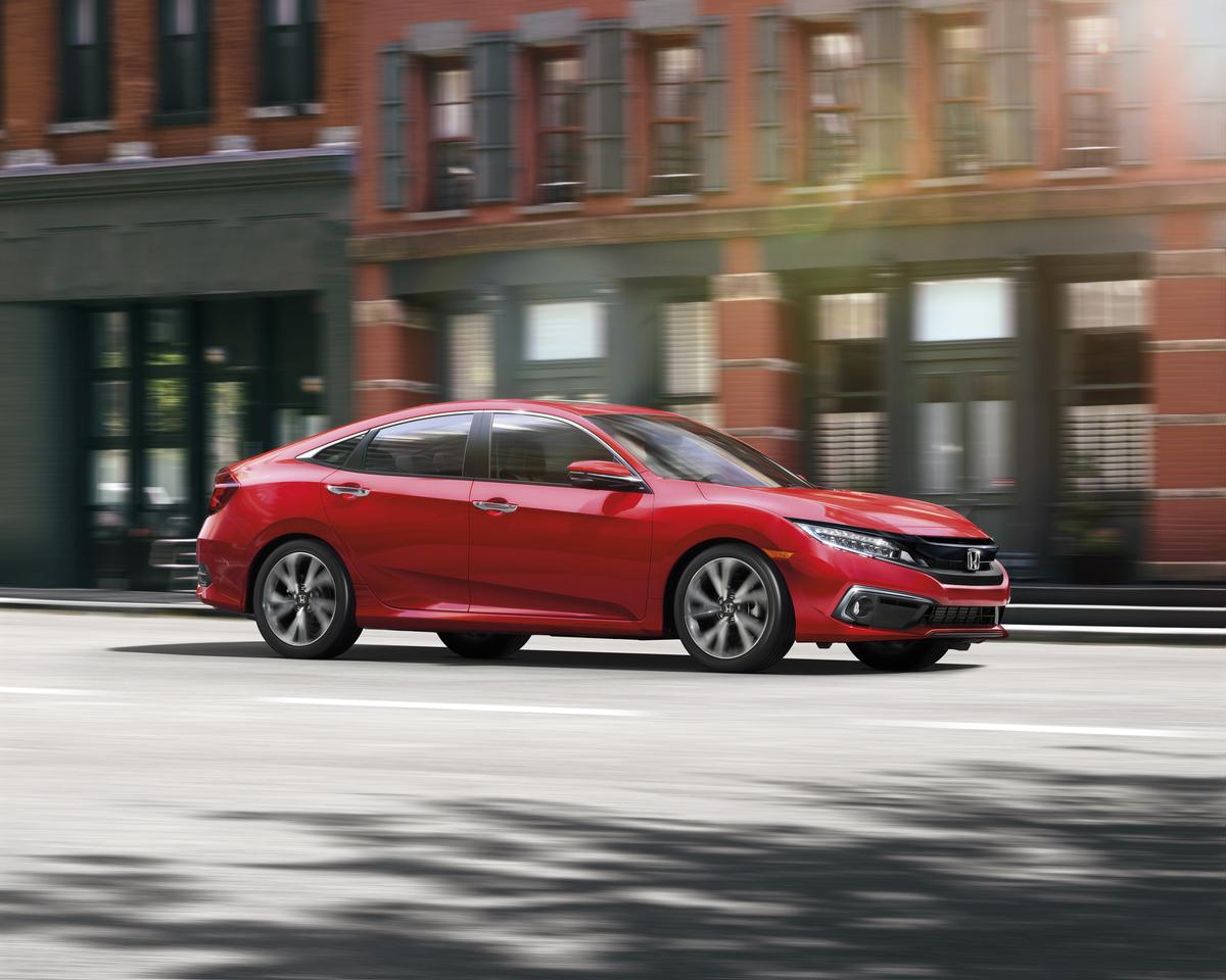 Honda Civic Estreia Com Novo Visual Nos Eua Motor Show