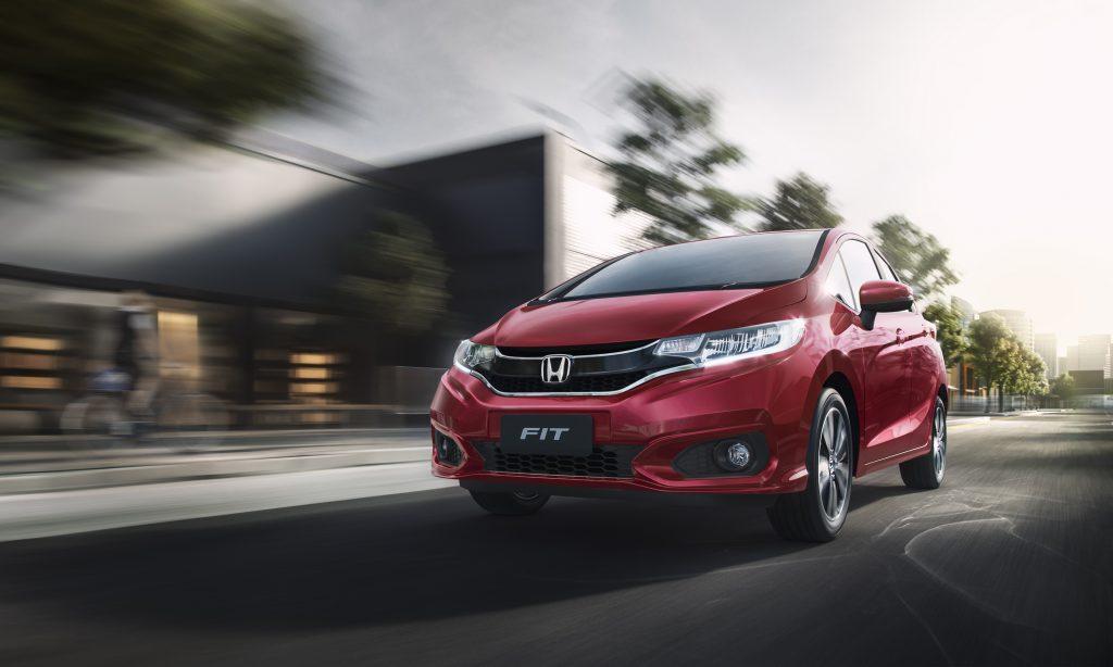 Honda Fit 2019 estreia em nova cor e com mais equipamentos ...