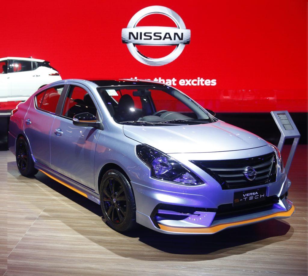 Nissan Versa vira esportivo para o Salão - Motor Show