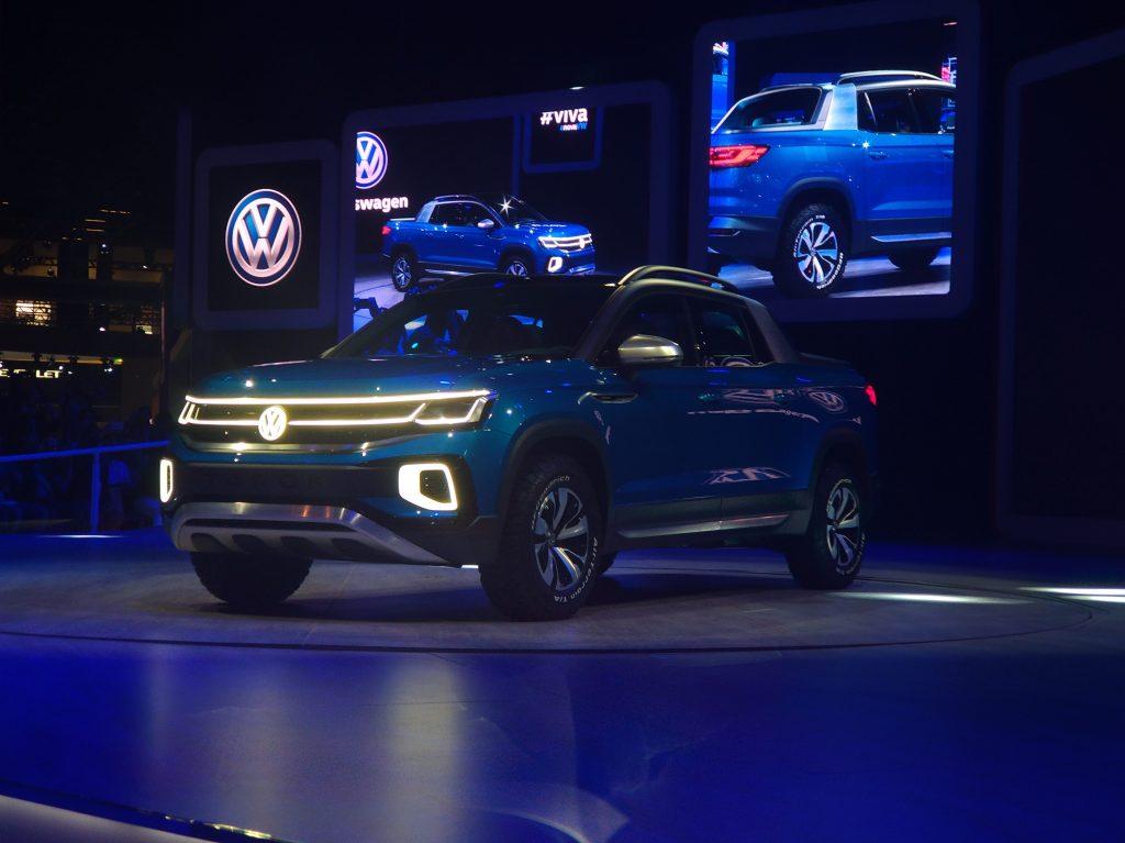 Para desafiar Fiat Toro, VW Tarok usa plataforma MQB ...