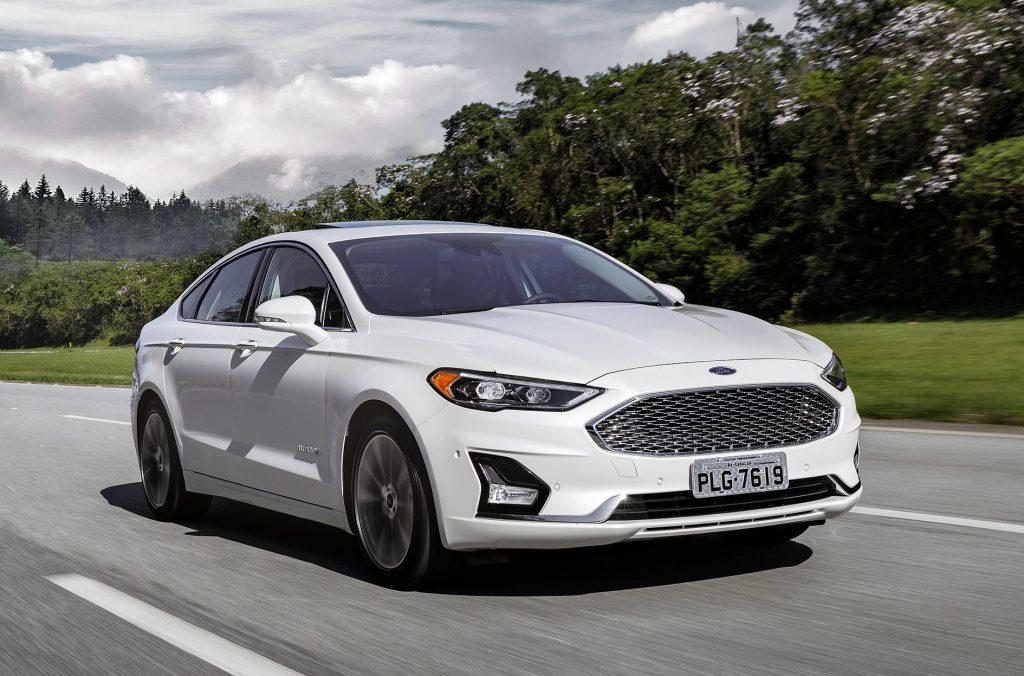 Ford Fusion 2019 Chega Com Novo Visual E Menos Vers 245 Es