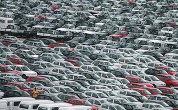 Anfavea prevê queda de 40% nas vendas de carros em 2020
