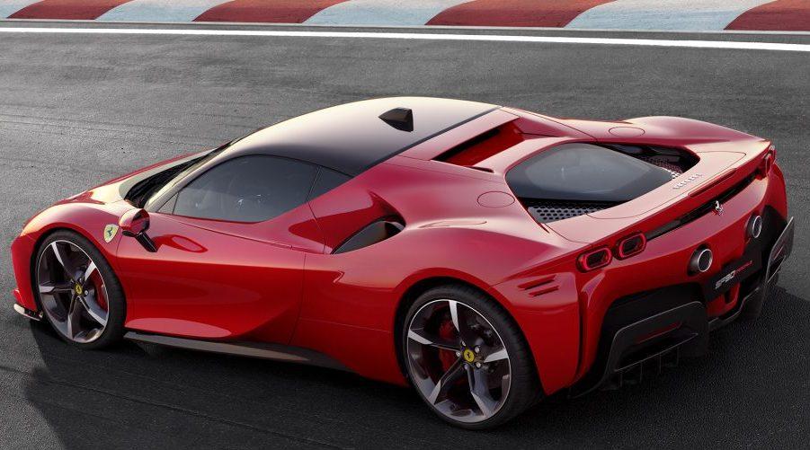 fa85ba19b3 Ferrari SF90 Stradale é híbrido plug-in de 1.000 cv - Motor Show