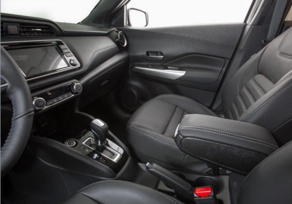 Nissan Kicks 2020 ganha piloto automático e outras novidades Kicks-sl-linha-2020-apoio-de-braco-2_1024x715-602x420