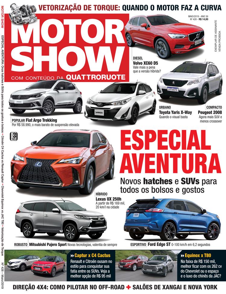 9f933c199 Confira os destaques da edição 428 da MOTOR SHOW - Motor Show