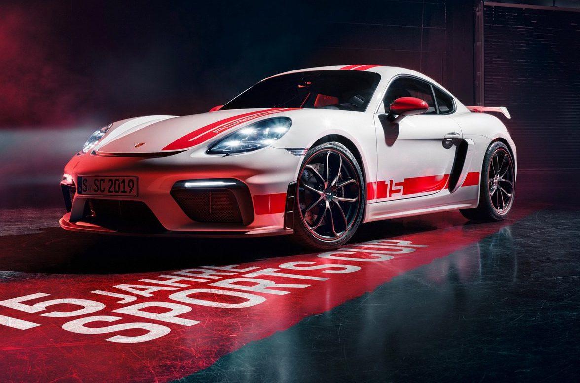 Porsche 718 Cayman Gt4 Recebe Edicao Limitada Motor Show