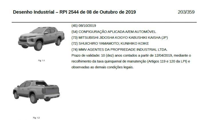 Nova Mitsubishi L200