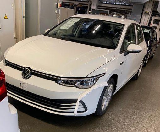 Novo VW Golf 8