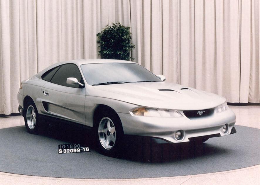 Ford Mustang Conceito Rambo 1990