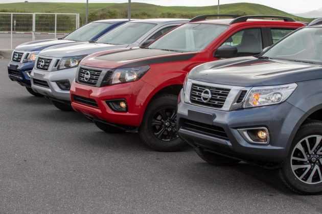 Linha 2020 da Nissan Frontier