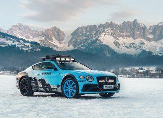 Bentley vai testar o novo Continental GT em uma corrida maluca no gelo