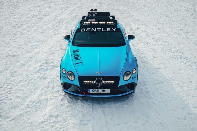 Competidora do Mundial de Rally Junior, a britânica Catie Munnings será a responsável por conduzir o Continental GT em Zell am See