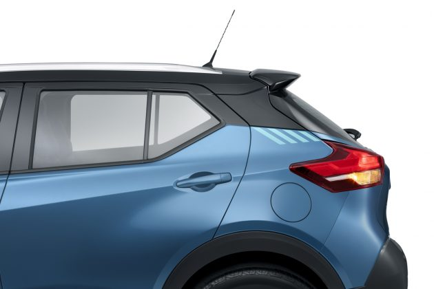 O design foi pensado para reduzir o atrito, com aerodinâmica eficiente, maior rigidez da carroceria sem deixar de ser o mais leve da categoria