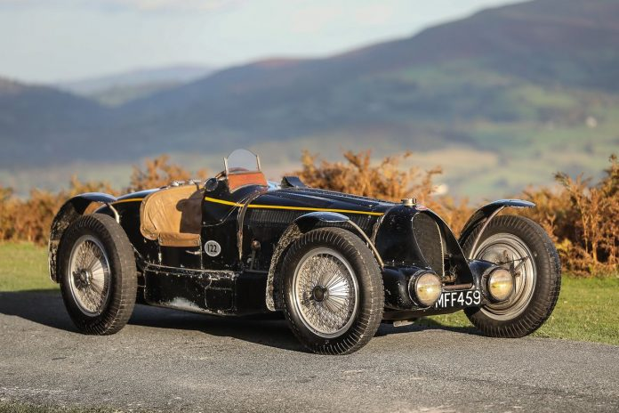 Raro Bugatti Type 59 construído em 1934