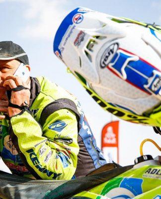 Campeão de 2019 morre no Dakar