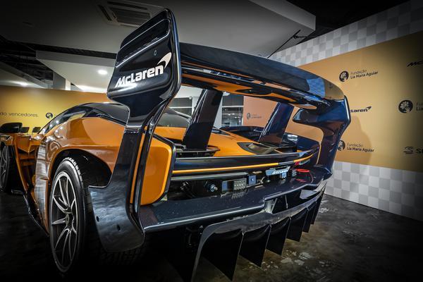 Única unidade do McLaren Senna GTR na América Latina foi apresentado em SP