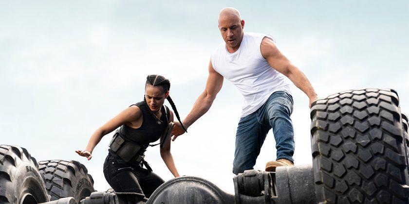 Dom, vivido por Vin Diesel, em cena de Fast 9